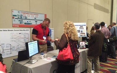 """Cogmedix and Columbia Tech Participate in """"Lean Lounge"""" at GBMP Annual New England Lean Conference"""