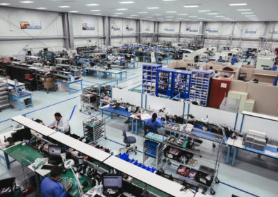 This facility provides a dedicated space to host all activities relating to printed circuit board assembly.